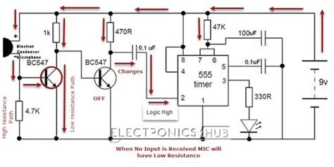 How Make Simple Clap Switch Circuit Working