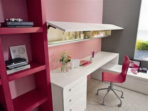 bureau fille ado chambre ado fille bureau pratique avec une chaise étagères