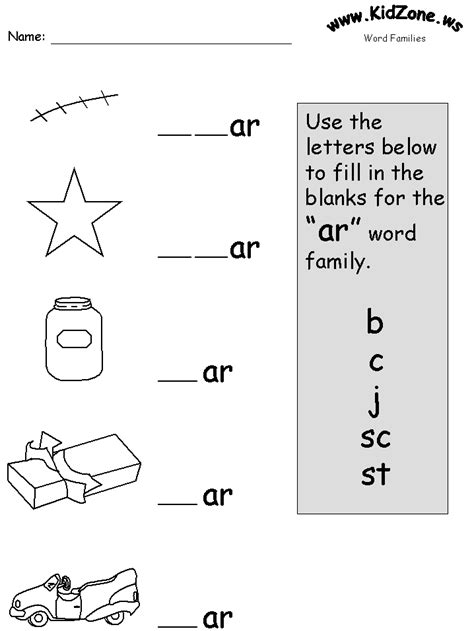 or words phonics worksheet worksheets for all