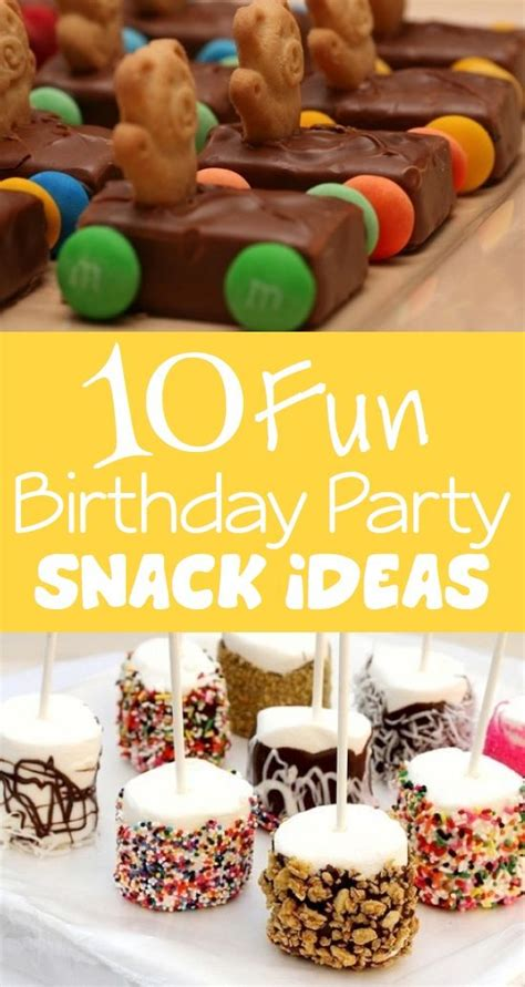 17 best ideas about birthday snacks on 682 | ed1895e5ef86d9bf901726932c240025