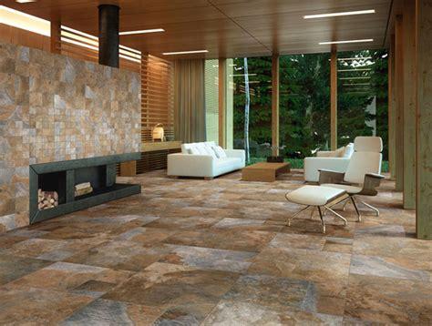 Livingroom Tiles Sintesi Newslate Living Room Rustic Wall And Floor Tile New York By Buytile