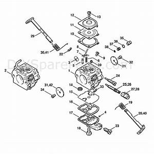 Stihl Ms 250 Chainsaw  Ms250 Z  Parts Diagram  Carburetor