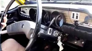 Renault 12 Ts 1973 Jaune  U00e0 Chris25 Avec Johnny Hallyday Et