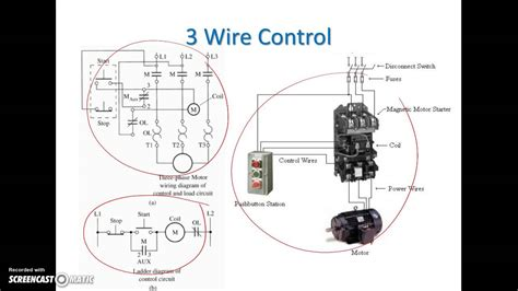 Ladder Diagram Basics Wire Motor Control