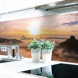 Küchenrückwand Hart Pvc : k chenr ckwand alpen sonne premium hart pvc 0 4 mm selbstklebend direkt auf die fliesen ~ Orissabook.com Haus und Dekorationen