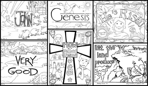 bible coloring pages  kids   printables