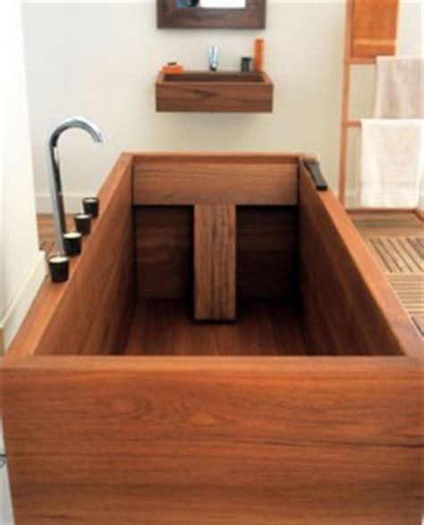 les baignoires en bois retour en force tout sur la