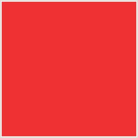 pomegranate color ee3233 hex color rgb 238 50 51 pomegranate