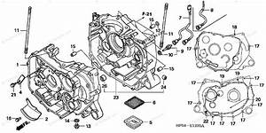 Honda Atv 2005 Oem Parts Diagram For Crankcase