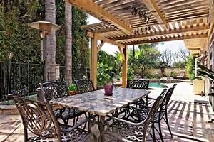 Table Pour Terrasse : protection solaire 55 id es pour la terrasse ext rieur ~ Teatrodelosmanantiales.com Idées de Décoration