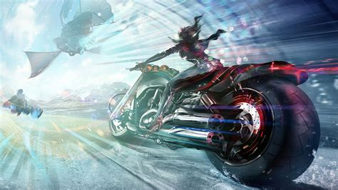 Motorcycle Art Wallpapers