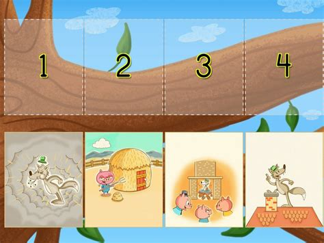sequencing    pigs game game educationcom