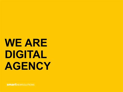 Digital Agency - smartnewsolutions service digital agency