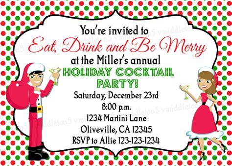 funny christmas party invitation wording ideas cimvitation