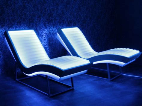 The Luminous Armchair Chaise Longue For Spa By Iso