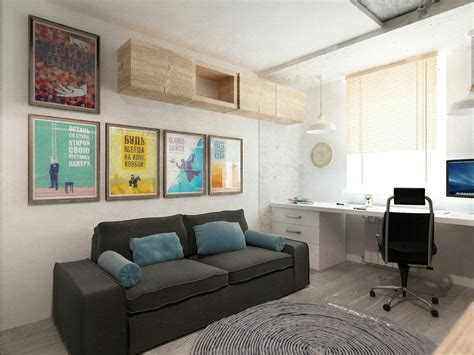 Small Spaces A 40 Square Meter 430 Square Apartment Visualization by 4 Small Beautiful Apartments 50 Square Meters