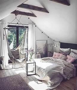 1001+ idées déco de chambre sous pente cocoon   chambre