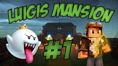 chaise fantome minecraft luigis mansion ep 1 chasse au fantôme