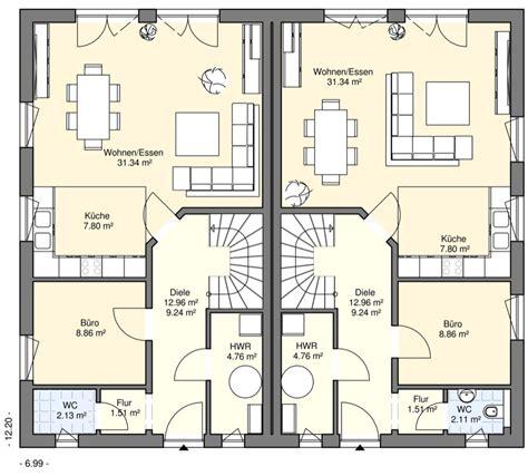 Haus 70 Qm by Doppel Und Reihenh 228 User Bgw Hausbau