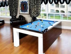 Modern, Games, Room, Furniture, Pool, Cum, Dining, Table, Furniture, Ideas