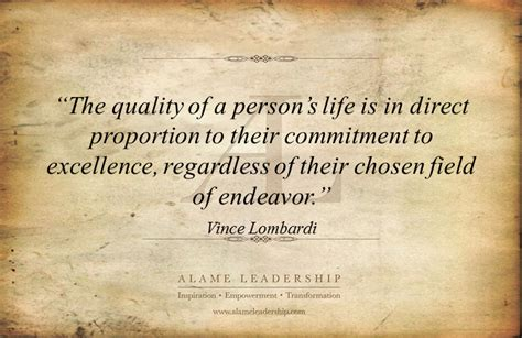 al inspiring quote  excellence alame leadership