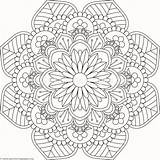 Mandala Coloring Coloriage Fleur Pottery Getcoloringpages Lotus Tribal Adulte Magnifique sketch template
