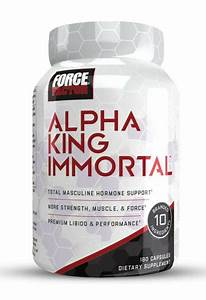 Force Factor Alpha King Immortal  Best Testosterone Booster