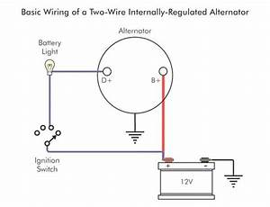 2 Wire Gm Alternator Diagram  With Images