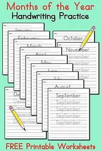 12 Free Handwriting Worksheets