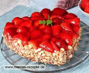 Mamas Rezepte : erdbeer herz torte rezepte suchen ~ Pilothousefishingboats.com Haus und Dekorationen