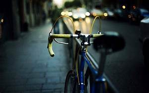 photography, Bicycle, Blurred, Lights, Car, Fence, Road ...