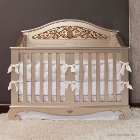Bratt Decor Crib Satin White by Bratt Decor Baby Cribs And Furniture Assembly
