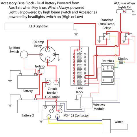 Wire Diagram Light Bar Rzr 1000 by Acc Fuse Block Install Polaris Rzr Forum Rzr Forums Net