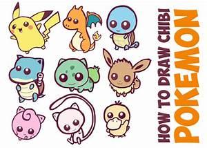 Learn How to Draw Kawaii Cute Chibi Pokemons - Huge Chibi ...