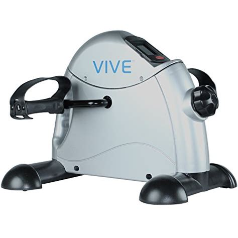 under desk bike peddler pedal exerciser by vive best portable medical exercise
