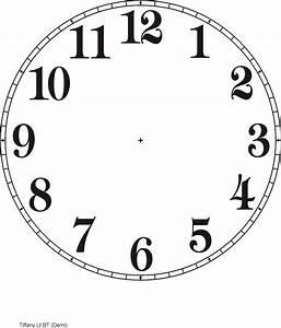 Printable Clock Templates