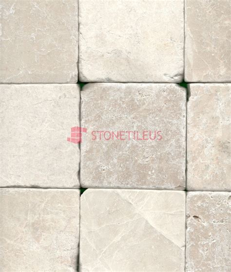 Marble Mosaic Tile by Botticino Beige Tumbled Marble Mosaic Tiles 4x4