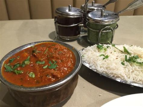 mantra indian cuisine vindaloo with basmati rice picture of mantra indian