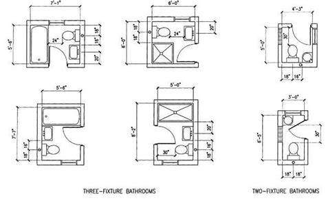 Floor Plan Small Bathroom by 6 Option Dimension Small Bathroom Floor Plans Layout Great