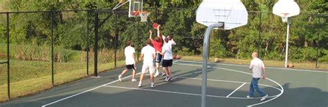 Basketball Backyard Courts Contractors In Houston Shuffle