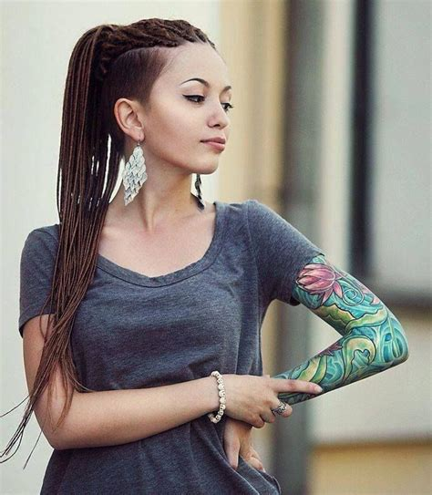 ultra feminine undercut super cute