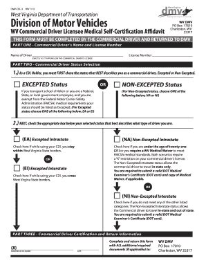 17010 guidelines for what to include in a resume fillable transportation wv dmv cdl 3 rev 1 13 west