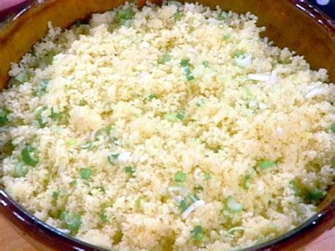 cuisine couscous couscous with scallions recipe food