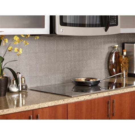 peel and stick groutless tile backsplash peel stick backsplash images frompo