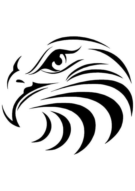 Eagle Head Vinyl Decal   Horse drawings