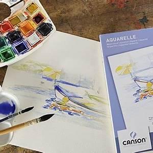 Tischstaffelei Selber Bauen : aquarellpapier a3 10 blatt 300 g m 30 42 cm von canson ~ Eleganceandgraceweddings.com Haus und Dekorationen