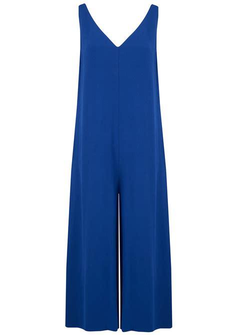 cobalt blue jumpsuit vintage holiester jumpsuit cobalt blue