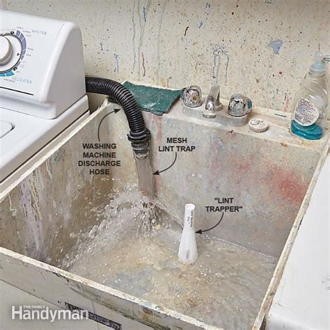 prevent clogged drains washing machine drain hose