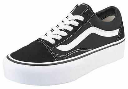 Vans Skool Platform Sneakers Dames Sneaker Zwart