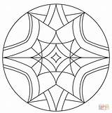 Kaleidoscope Coloring Pages Drawing Printable Supercoloring Thumbnail Getdrawings Cool Categories sketch template